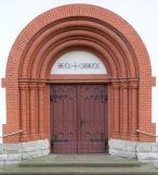 Portal, Katholische Kirche Heilige Familie, Rüdersdorf
