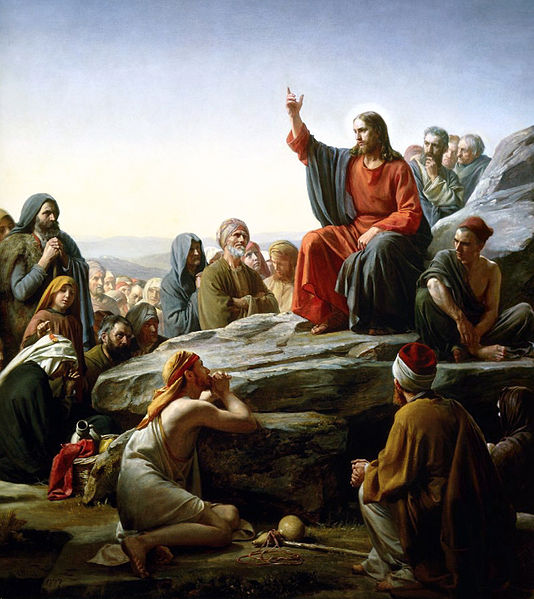 Bloch Sermon on the Mount (https://commons.m.wikimedia.org/wiki/File:Bloch-SermonOnTheMount.jpg#mw-jump-to-license)