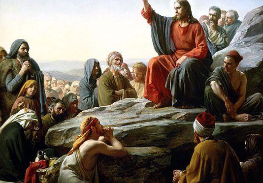 Bloch Sermon on the Mount (https://commons.m.wikimedia.org/wiki/File:Bloch-SermonOnTheMount.jpg#mw-jump-to-license)