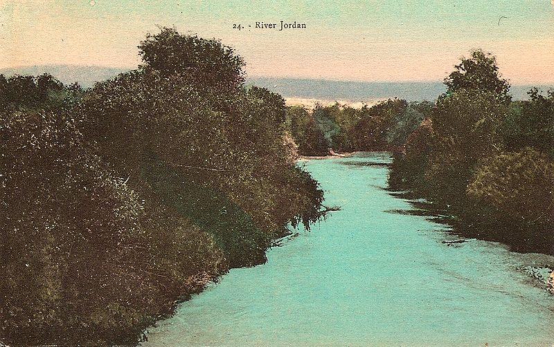 Fluss Jordan (https://commons.m.wikimedia.org/wiki/File:JordanAbbud.jpg#mw-jump-to-license)