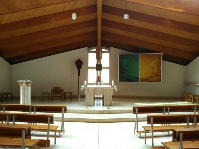 Kirche in Fastenzeit