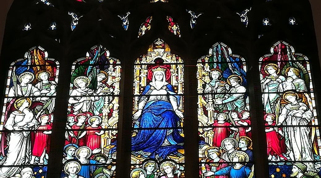 Bleiglass Fenster, St Marys, Blackheath
