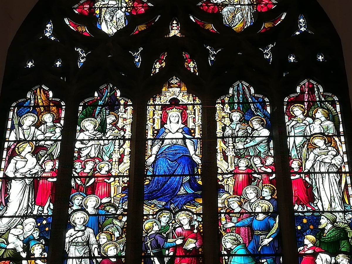 Bleiglass Fenster, St Marys, Blackheath
