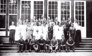 Die Chormitglieder des Jahres 1922