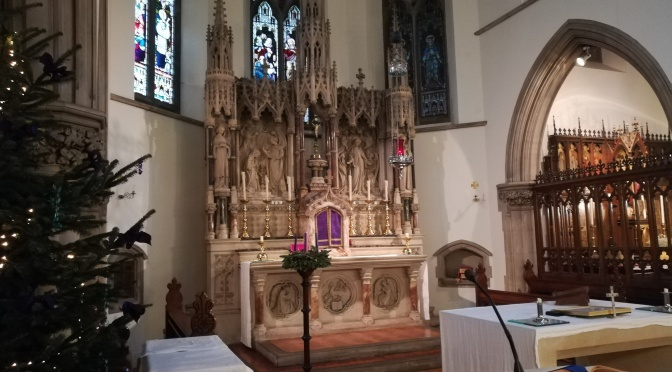 Altar, St Mary's, Blackheath, London
