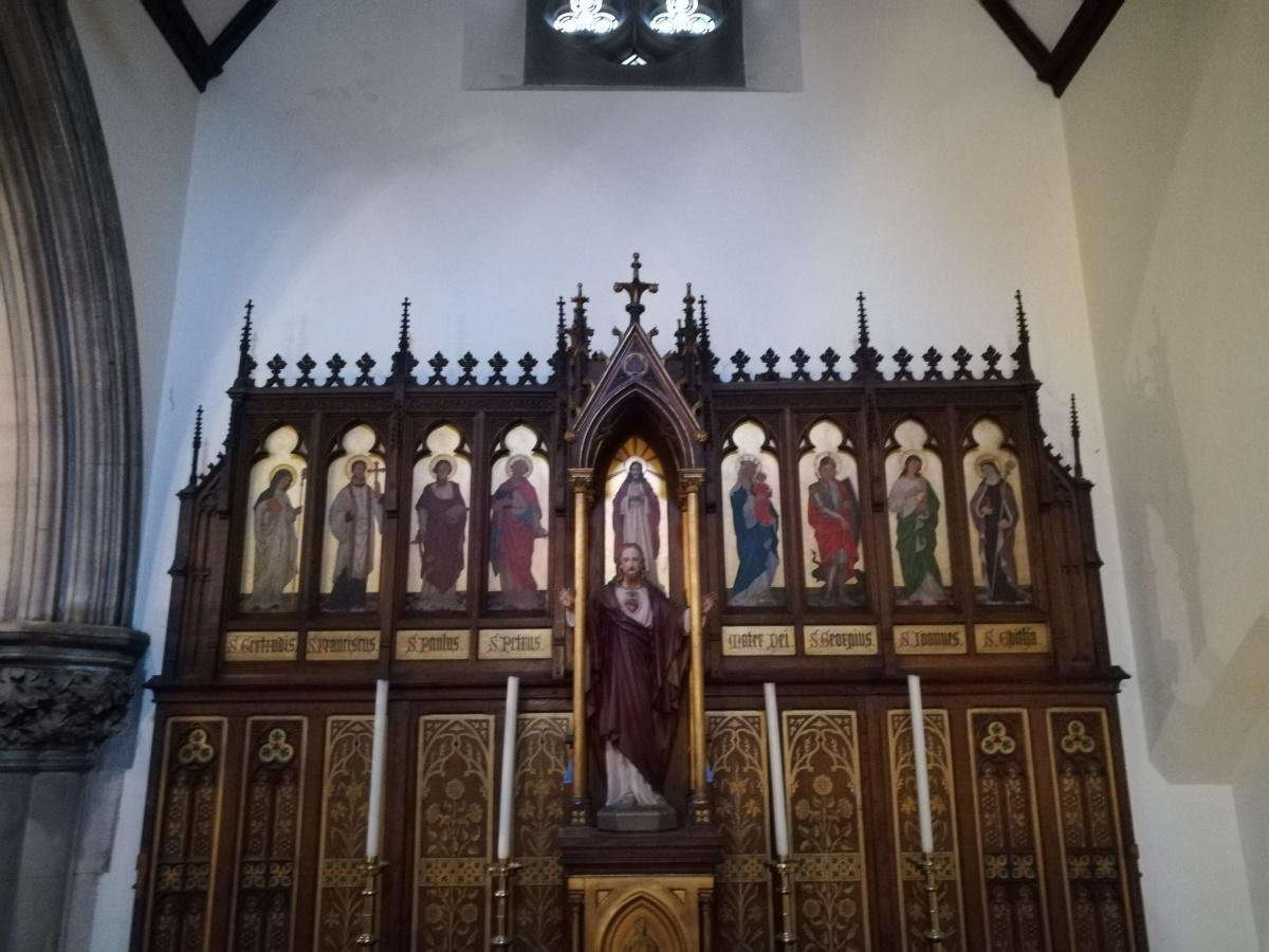 Altar, St Marys, Blackheath, London