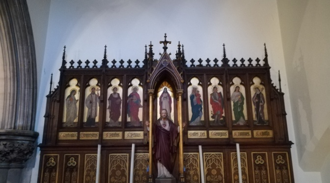 Altar, St Marys, Blackheath, London