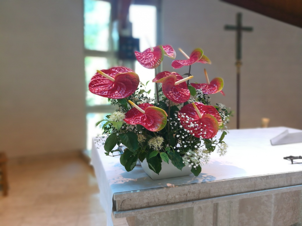 Blumen, Pfingsten