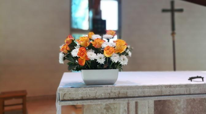 Blumen, Maria Unbefleckte Empfänfnis, Schöneiche